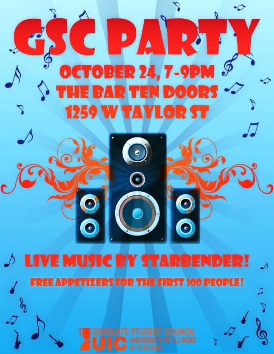 Oct 24 - GSC Party!!